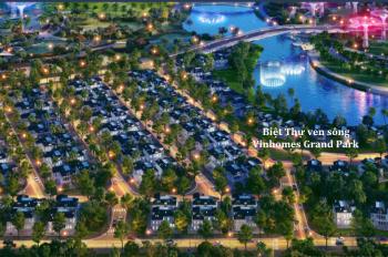 Cơ hội sở hữu nhà phố, biệt thự ven sông Vinhomes Grand Park Quận 9 - LH 0938758880
