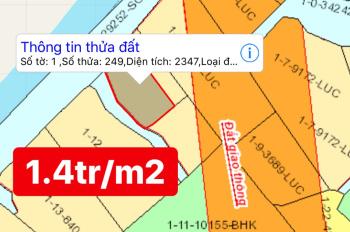 Bán lô đất Phước Khánh, 1.4 tỷ/1000m2, LH: 0931743236