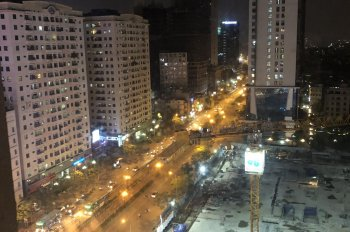 Cho thuê mặt bằng lô góc Trần Phú, Hà Đông 140m2 x 2 tầng đoạn đường vỉa hè rộng phù hợp KD