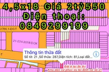 Cần bán ít đất ở Bửu Long, có sổ riêng chính chủ, giá sinh viên khu song ngữ Lạc Hồng
