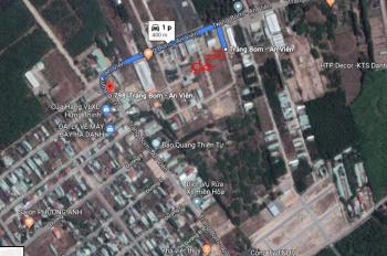 Đất cạnh cây xăng An Viễn, sát đường Phùng Hưng, sổ riêng thổ cư, giá 840 triệu