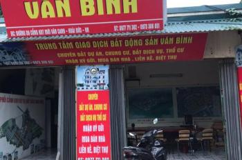 Văn phòng bất động sản Văn Bình chính chủ biệt thự liền kề Vân Canh HUD LH 0973306051