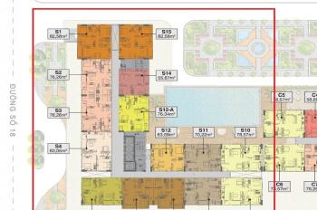 Thu hồi vốn bán CH cao cấp 2PN, nội thất cao cấp Malloca, Toto, quý 3 nhận nhà, LH: 0985.694.795