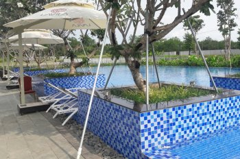 Bán nhà phố Lavila GĐ1 6 x 17,6m, 3 lầu view trực diện công viên hồ bơi giá 7.7 tỷ CC: 0906 973 796