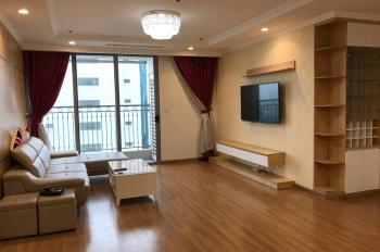 Cho thuê căn hộ chung cư Vinhomes 54A Nguyễn Chí Thanh, căn góc 137m2, 3 phòng ngủ, LH: 0985842886