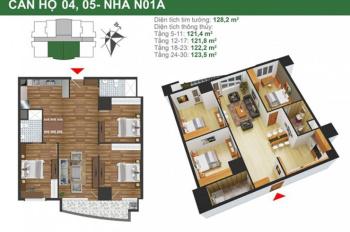 Chung cư K35 Tân Mai căn hộ 2PN - 3PN, DT 68 - 121m2, chính chủ bán gấp giá 25 tr/m2 (MTG)
