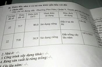 Chính chủ cần bán mặt tiền Nguyễn Duy Trinh, đoạn đang mở rộng, rẻ hơn thị trường 200tr