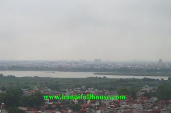 Căn hộ cao cấp ở Yên Phụ - Aqua Central cho thuê, đồ cơ bản, thuê lâu dài, LH: 0902134904