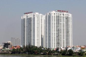 Cho thuê căn hộ cao cấp Hoàng Anh Gia Lai 2, DT- 120m2, 3PN, 3WC, lầu cao, view đẹp. Giá: 11tr
