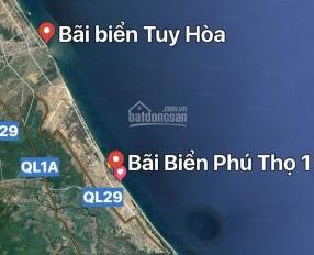 Chính chủ bán lô đất ven biển Phú Yên, giá 10tr/m  LH 0916898181