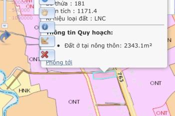 Bán đất 2 mặt tiền Tỉnh Lộ 763 - Suối Cát - Xuân Lộc - Đồng Nai