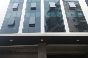 Bán toà nhà văn phòng mặt phố Vũ Phạm Hàm Mạc Thái Tông giá rẻ DT: 110m2, nhà xây 8 tầng, thang máy