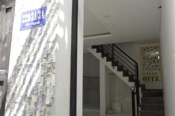 Tôi chủ nhà, rao bán nhà 229/31/3A Tây Thạnh, P. Tây Thạnh, Q. Tân Phú. 4.4x10m, 1 lầu đúc thật