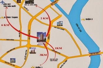 Cần bán căn hộ Sài Gòn Land đường Nguyễn Gia Trí (D2 cũ), Phường 25, Quận Bình Thạnh
