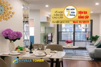 Tecco Skyville Thanh Trì - tặng quà 100tr - giá từ 897tr/căn - hỗ trợ vay 70%, 275tr là có nhà