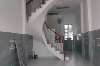 Nhà mới 1 trệt 2 lầu, 3PN, 3WC, 110m2, hẻm xe hơi đường Ấp Chiến Lược, Phường Bình Trị Đông A