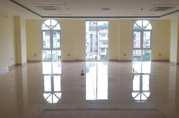 Chính chủ cho thuê nhà mới mặt phố 85 Nguyễn Ngọc Vũ 180m2 x 9T, mặt tiền 9.5m kinh doanh đa dạng