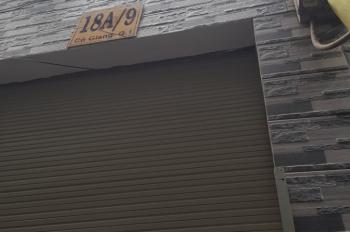 Bán nhà hẻm 18A Cô Giang, Q. 1, 3 lầu, ST, 3WC, 2PN, giá: 2.25 tỷ