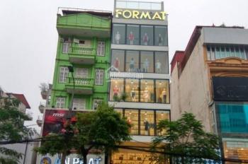 Chính chủ cho thuê nhà mặt phố Chùa Bộc - Đống Đa, DT 120m2 x 8 tầng, MT 6m, LH 0984213186