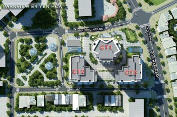 Bán suất ngoại giao chung cư E4 Yên Hòa - Yên Hòa Park View, căn hiếm, giá siêu rẻ - 0975993392