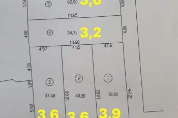 Bán 2 lô đất tại kiệt 31 đường Châu Văn Liêm, Hải Châu, Đà Nẵng, diện tích 62.9m2, giá 3.6 tỷ