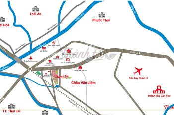 Khu đô thị thông minh Thành Đô đầu tiên tại ĐBSCL ngay ủy ban nhân dân quận Ô Môn