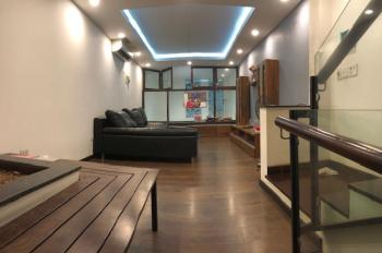 Cho thuê nhà mặt ngõ ô tô phố Trần Đại Nghĩa, 50m2 x 6 tầng, ngõ thông, cách phố 35m, giá 25 tr/th