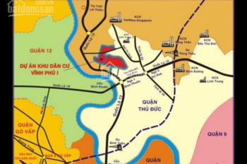 Cần bán lô đất KDC Vĩnh Phú 17, LK bệnh viện Hạnh Phúc, DT 80m2, giá 600tr/nền, SHR, LH 0932124234