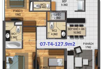 Chính chủ cần bán căn hộ 07 tòa N03-T4 chung cư Ngoại Giao Đoàn, 097 168 3588
