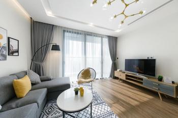 Cho thuê CHCC Vinhomes Metropolis, tòa M3 tầng cao, 78m2, full nội thất, view Hồ Tây. 0969340786