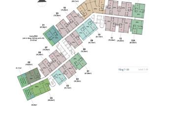 Cần bán gấp căn hộ 1 phòng ngủ tầng cao Compass One, tháng 10 nhận nhà ngay, cho thuê 180tr/năm