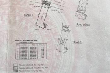 Bán nhà hẻm 42, Hoàng Hoa Thám, P7, Bình Thạnh, DT 3*11m, nở hậu. DTCN 34m2, 1 lầu