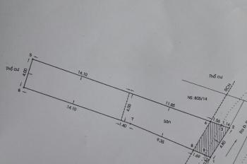 Chính chủ cần sang gấp lô đất đường Phan Văn Trị gần khu phức hợp D - One DT: 4,8x28m