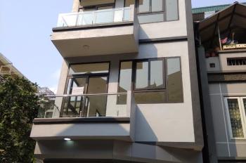 Cho thuê nhà mới ngõ ô tô 8m, ngõ 5 Phạm Thận Duật. DT 72m2, 5.5T, 32tr/m2 thông sàn, 0968120493