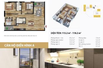 Nổi bật trung tâm quận Thanh Xuân, căn hộ 2 mặt tiền đường, đẳng cấp, đơn giá 25.9 triệu/m2