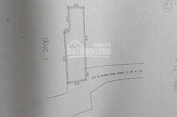 Nhà 2 mê 2 tầng kiệt 110 Phan Thanh
