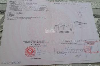 Cần bán đất mặt tiền đường 658 giá chỉ hơn 6tr/m2, xã Phước Thạnh - Củ Chi, sổ hồng thổ cư