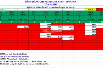 Chính sách CK ưu đãi tốt nhất Hinode City, đăng ký tham quan xem căn hộ thực tế. LH 0962.613.660