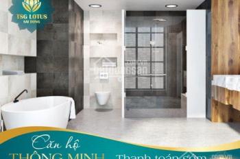 Tặng ngay 1 chỉ vàng, CK 3% GTCH cho 15 KH sở hữu căn hộ smarthome tại phố Sài Đồng