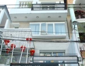 Nhà bán HXT Phan Đăng Lưu gần ngã 4, Phú Nhuận, 4x20m, hiện trạng 1 trệt 4 lầu. Giá 12,5 tỷ TL