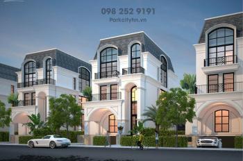Mở bán đợt 1 biệt thự đơn lập, liền kề The Mansions ParkCity giá gốc CĐT. LH: 098.252.9191