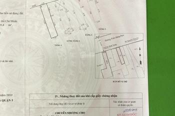 Nhà mặt tiền Trần Hưng Đạo, quận 5 gần Nguyễn Văn Cừ. 12,5 tỷ