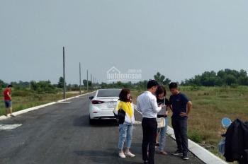 Cần tiền bán gấp lô đất đối diện cổng KCN Phú An Thạnh, 115m2 giá siêu tốt, thổ cư 100%, 0902471286