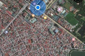 Bán nhà ngõ rộng thoáng phố Nguyễn Quyền, DT nhà ở 60,4m2, diện tích đất ở 71,1m2, SĐCC. 0986792345