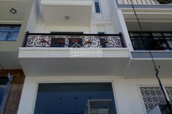 Chính chủ cho thuê nhà mới xây Nguyễn Du, P7, Gò Vấp. Cách mặt tiền 1 căn nhà, 4 lầu