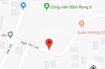 Bán lô đất đường Ngô Chi Lan, đối diện công viên Đầm Rong II, gần chợ Đống Đa