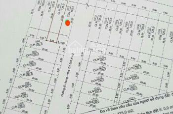 Đất 2 mặt tiền đường Số 13, Hòa Long, TP Bà Rịa, DT 5x25m thổ cư 50m2, giá 1 tỷ 500. LH: 0937067578