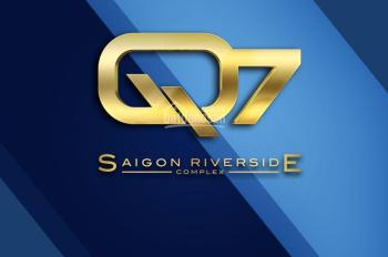 PKD chuyển nhượng dự án Q7 Riverside, bán nhanh căn 2PN - góc, 1.8 tỷ/căn. LH: 0906349749 Ms Thi