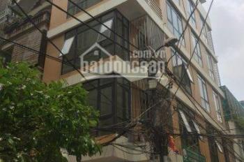Cho thuê nhà mặt phố Đội Cấn Ba Đình DT 72m2 x 6 tầng, 1 tum, MT 5,5m có thang máy, LH 0986.896.498