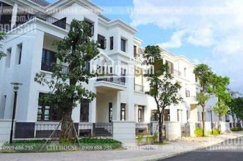 Rẻ nhất Vinhome Biệt thự  300m2, 75 tỷ, ngay công viên, đường trung tâm. Liên hệ ngay 093 193 6360